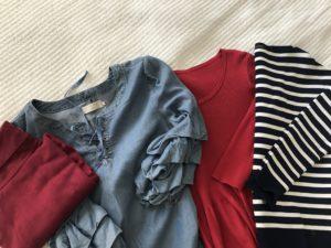 maaliskuun vaatteet